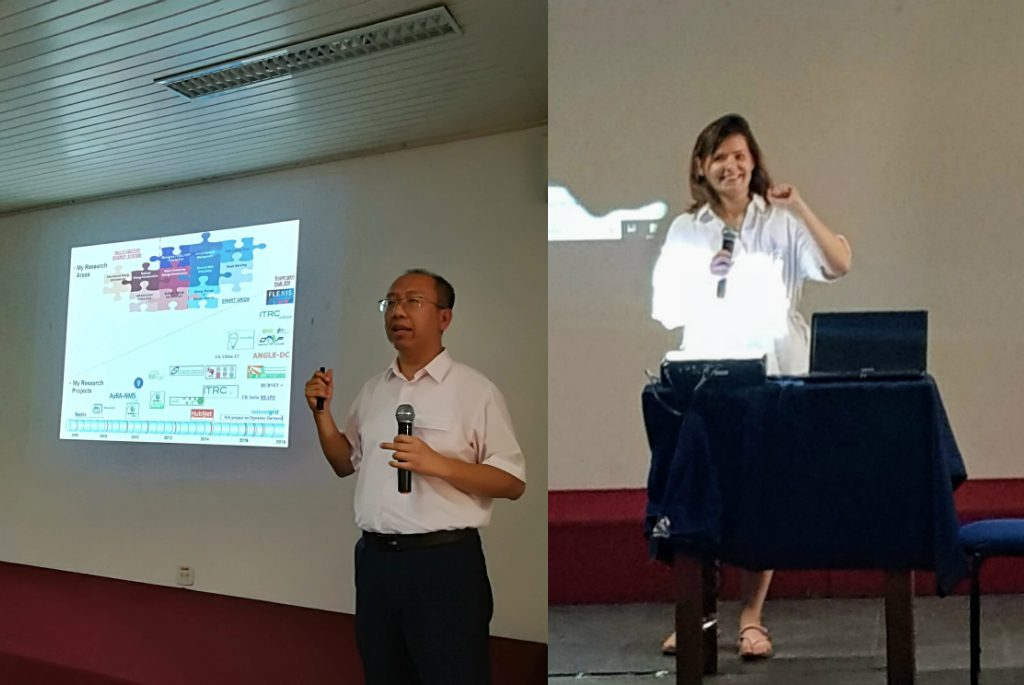 Prof Wu explains how to plan research for small projects and large ones like FLEXIS while Karolina provides an overview of the funding landscape.