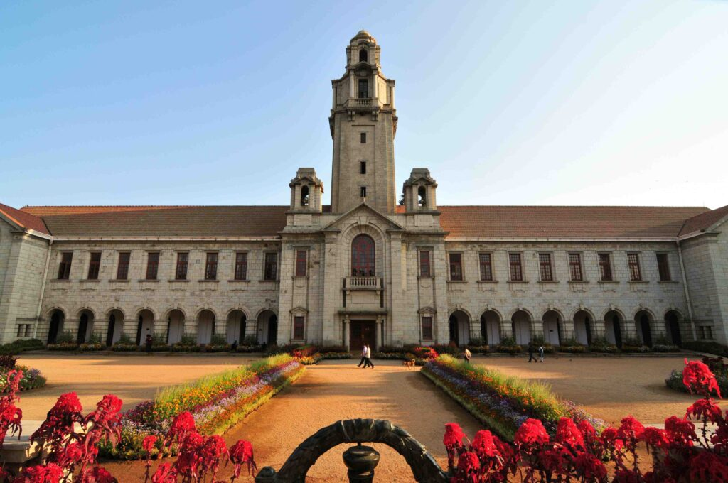 The Indian Institute of Science, Bangalore